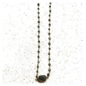 Free People stone necklace